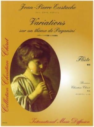Variations sur un thème de Paganini - Flûte solo - laflutedepan.com