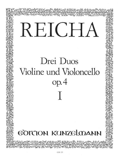 3 Duos op. 4 n° 1 - Violine und Violoncello - laflutedepan.com