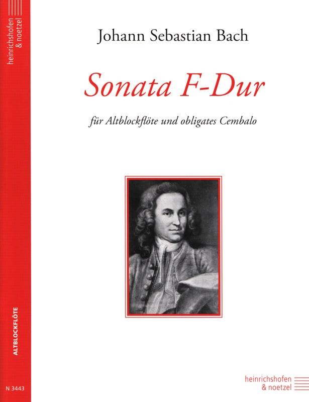 BACH - Sonata F-Dur - Altblockflöte - Partition - di-arezzo.com
