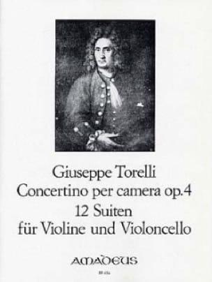 Concertino per camera op.4 - 12 Suiten - TORELLI - laflutedepan.com
