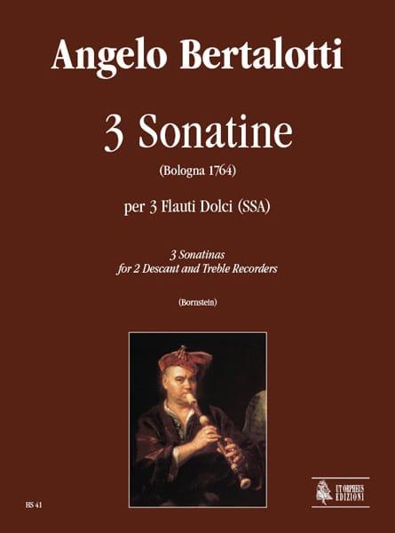 3 Sonatines - Angelo Bertalotti - Partition - laflutedepan.com
