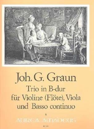 Trio B-Dur -Violine Viola u. Bc - laflutedepan.com