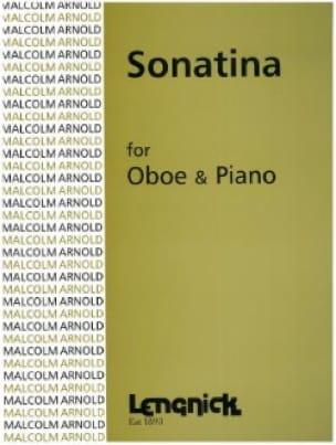 Sonatina - Oboe pianoforte - Malcolm Arnold - laflutedepan.com