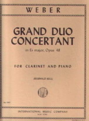 Grand duo concertant op. 48 - Carl Maria von Weber - laflutedepan.com