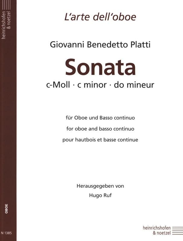 Sonata c-moll -Oboe und Bc - laflutedepan.com