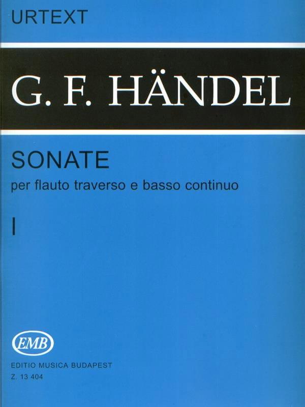 HAENDEL - Sonatas - Volumen 1 - Flauto Crossbody - Partition - di-arezzo.es