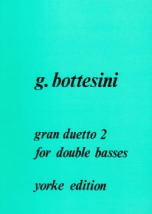 Gran duetto n° 2 - BOTTESINI - Partition - laflutedepan.com