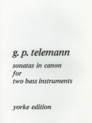 Sonatas in Canon - TELEMANN - Partition - laflutedepan.com
