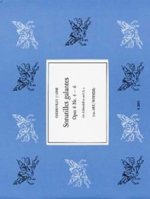 Philippe Esprit (L'Aîné) Chédeville - Sonate galanti op. 6 n ° 4-6 - Partition - di-arezzo.it