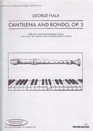 Cantilena and Rondo op. 3 - George Fiala - laflutedepan.com