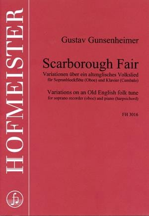 Scarborough Fair - Gustav Gunsenheimer - Partition - laflutedepan.com