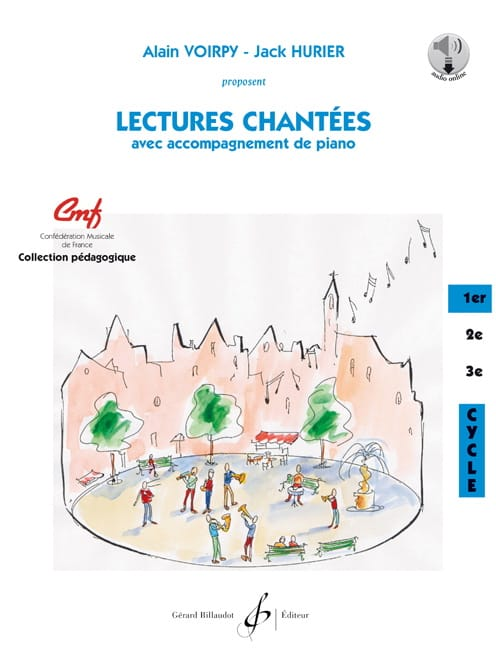 Lectures chantées - 1e Cycle - laflutedepan.be