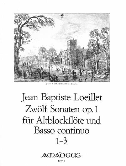 de Gant Jean Baptiste Loeillet - 12 Sonaten Opus 1 Volume 1 - Partition - di-arezzo.co.uk