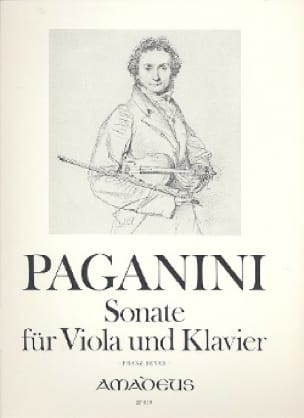 Sonate für Viola und Klavier - PAGANINI - Partition - laflutedepan.com