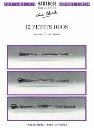 15 Petits duos - Partition - Hautbois - laflutedepan.com