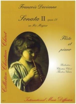 Sonata n° 2 op. 58 en ré majeur - Flûte piano - laflutedepan.com