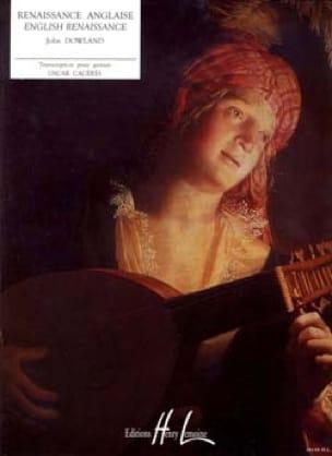 Renaissance Anglaise - DOWLAND - Partition - laflutedepan.com