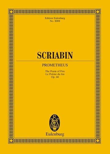 Prometheus op. 60 - Partitur - SCRIABINE - laflutedepan.com