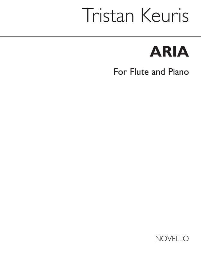 Aria -Flûte piano - Tristan Keuris - Partition - laflutedepan.com