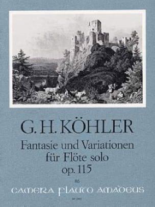 Fantasie und Variationen op. 115 - Flöte solo - laflutedepan.com