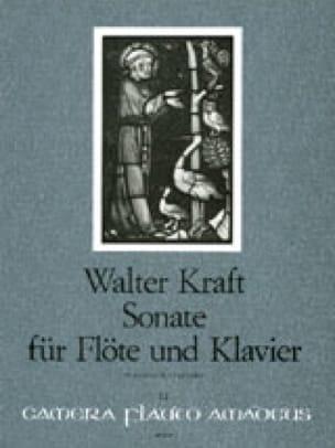 Sonate - Flûte et Piano - Walter Kraft - Partition - laflutedepan.com