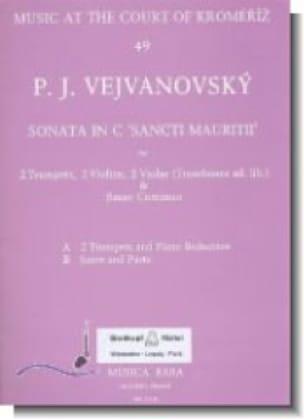 Sonata in C Sancti Mauritii -Score + parts - laflutedepan.com