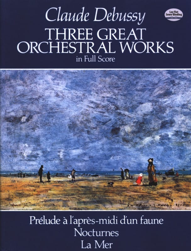 DEBUSSY - 3 Great Orchestral Works - Full Score - Partition - di-arezzo.co.uk
