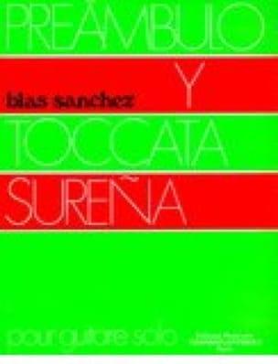 Preambulo Y Toccata Surena - Sanchez Blas - laflutedepan.com