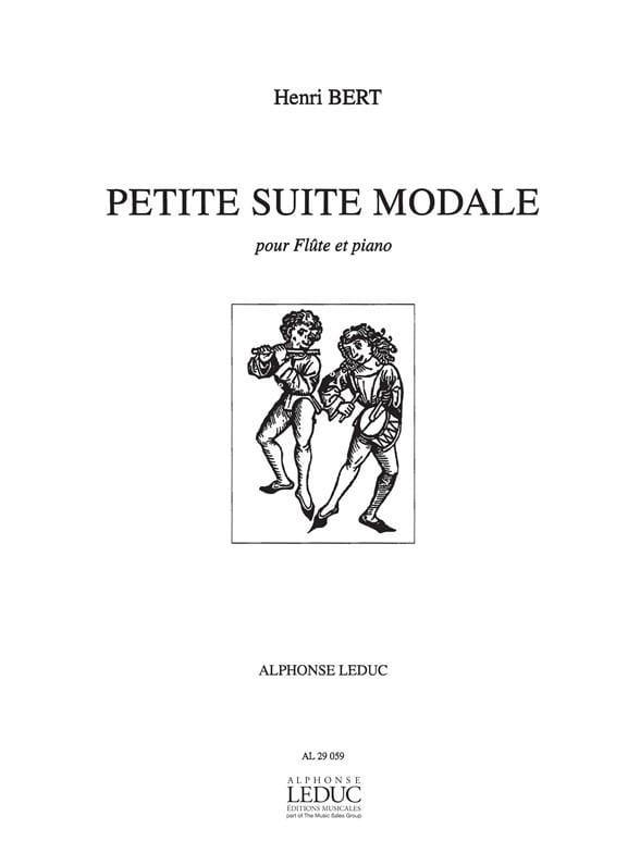 Henri Bert - Small modal suite - Partition - di-arezzo.co.uk