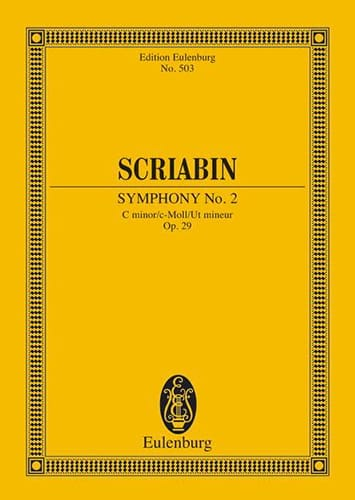 Alexandre Scriabine - Symphony Nr. 2 C-Moll, Op. 29 - Conductor - Partition - di-arezzo.com