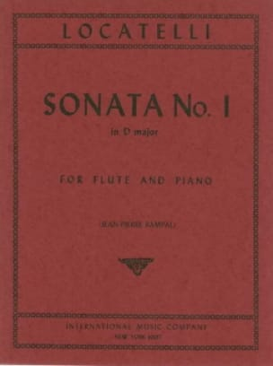 Sonata n° 1 in D major - Flute piano - LOCATELLI - laflutedepan.com