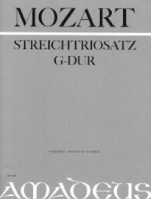 MOZART - Streichtrio G-Dur KV Anh. 66 - Partitur Stimmen - Partition - di-arezzo.com