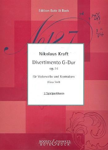 Divertimento en sol majeur op. 14 - Nikolaus Kraft - laflutedepan.com