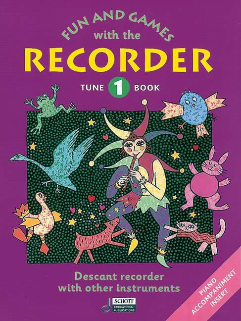 Fun and games with the recorder - Tune 1 - laflutedepan.com