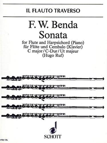 Sonate C-Dur - Flöte Cembalo Klavier - laflutedepan.com