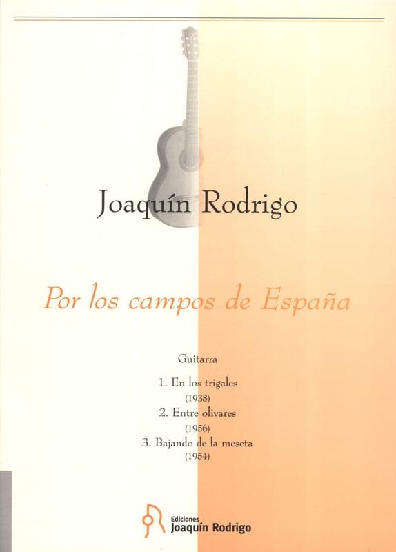 Joaquin Rodrigo - Por los campos de Espana - Guitarra - Partition - di-arezzo.co.uk