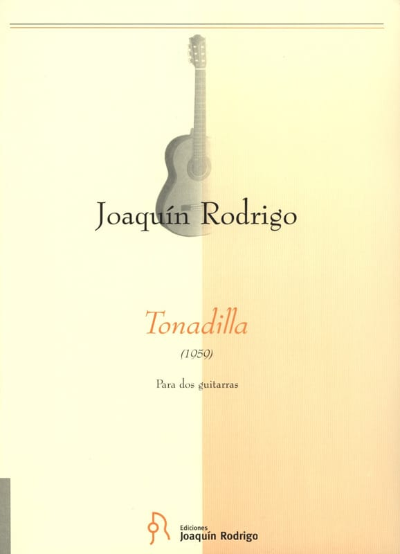 Tonadilla -2 Guitarras - RODRIGO - Partition - laflutedepan.com