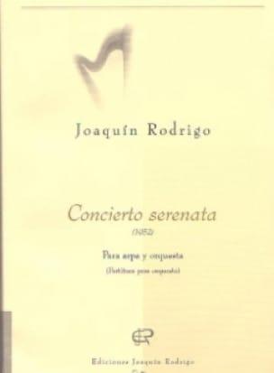 Concierto Serenata - Partitura - RODRIGO - laflutedepan.com