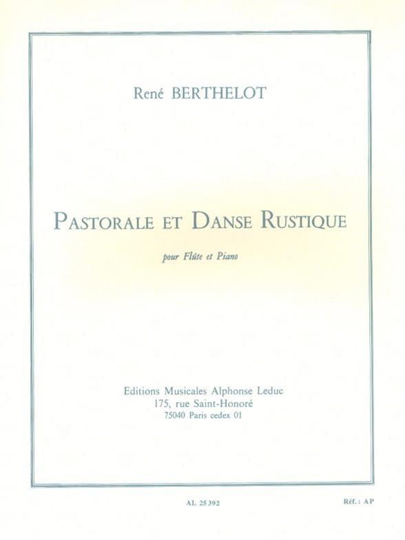 Pastorale et Danse rustique - René Berthelot - laflutedepan.com