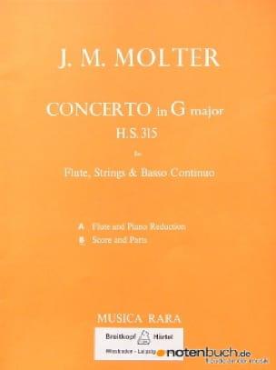 Concerto in G major H.S. 315 -Flute strings Bc - laflutedepan.com