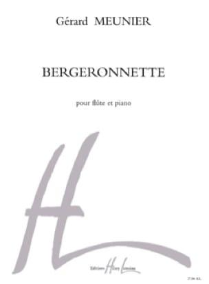 Bergeronnette - Gérard Meunier - Partition - laflutedepan.com