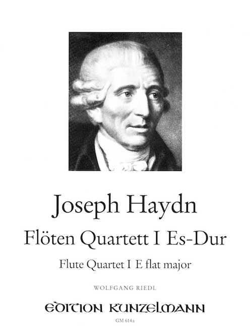 Flötenquartett Nr. 1 Es-Dur -Flöte Violine Viola Cello - laflutedepan.com