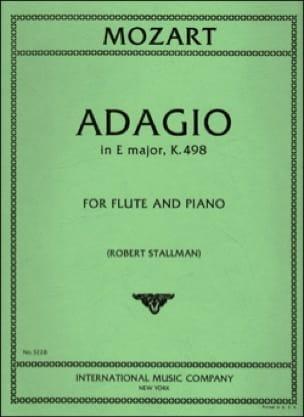 Adagio in E major KV 261 - Flute piano - MOZART - laflutedepan.com