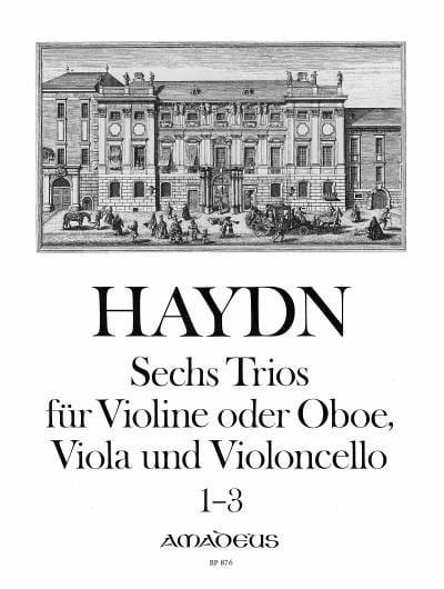HAYDN - 6 Trios Bd. 1 - Stimmen - Partition - di-arezzo.co.uk
