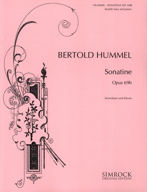 Sonatine op. 69b - Kontrabass Klavier - laflutedepan.com