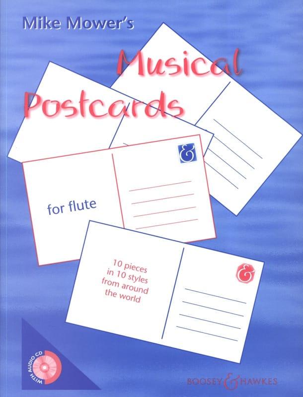 Musical Postcards for Flute - Mike Mower - laflutedepan.com