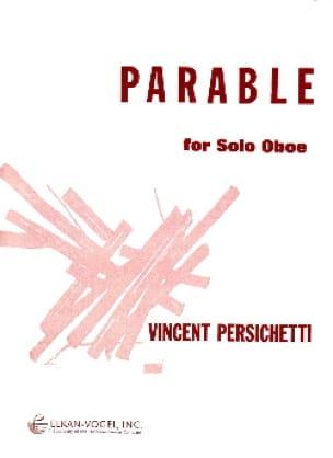 Parable for solo Oboe - Vincent Persichetti - laflutedepan.com