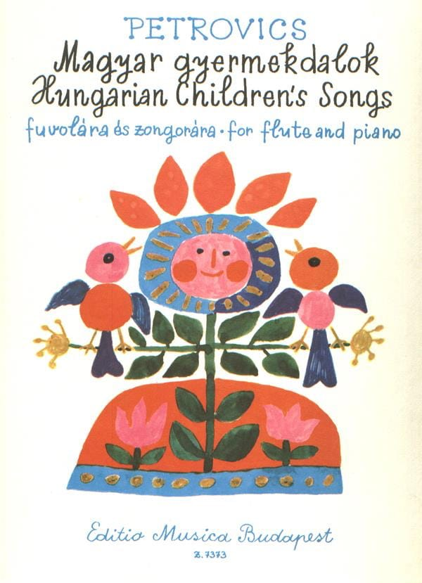 Hungarian Children's Songs - Flute piano - laflutedepan.com