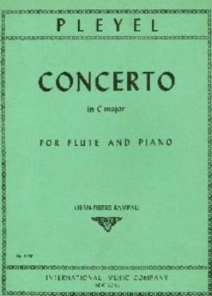 Concerto in C major - Flute piano - Ignaz Pleyel - laflutedepan.com