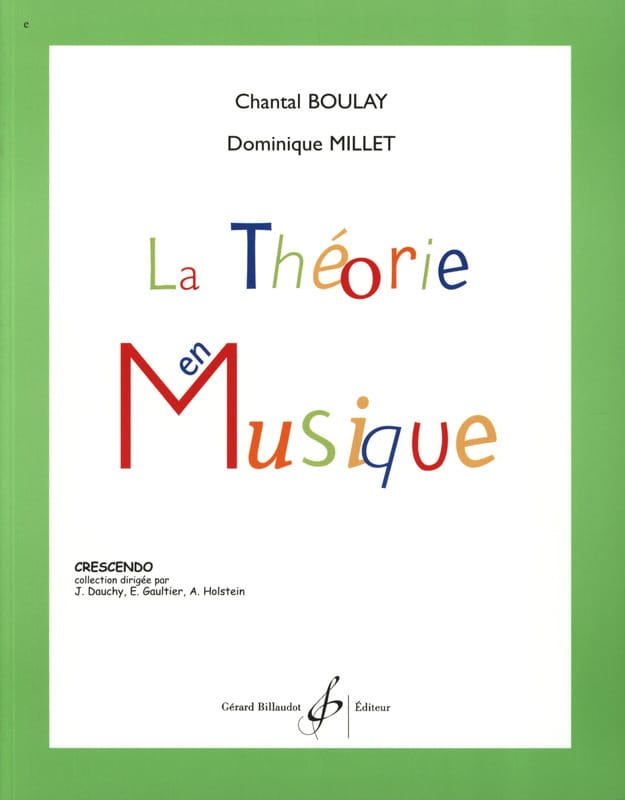 BOULAY - MILLET - The Music Theory - Partition - di-arezzo.com